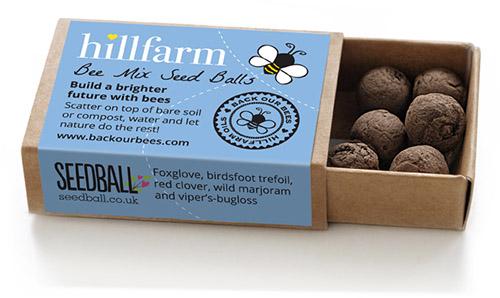 Seedball-matchbox-BeeMix-SINGLE-Hillfarm-lr