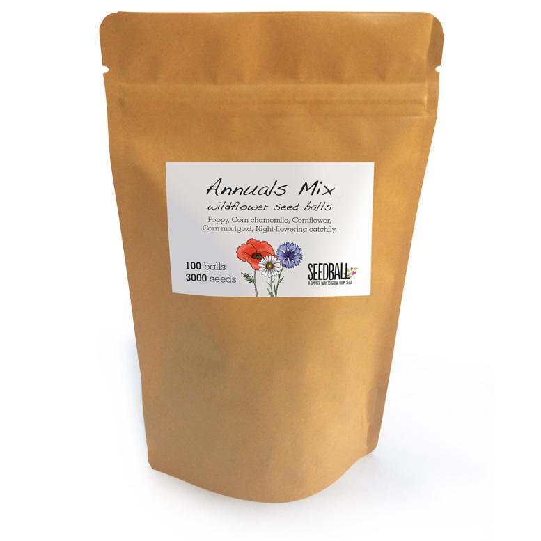 Seedball Annuals Mix Grab Bag