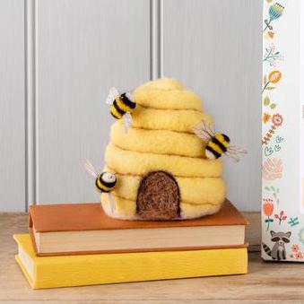 Seedball Bee Hive Felting Kit