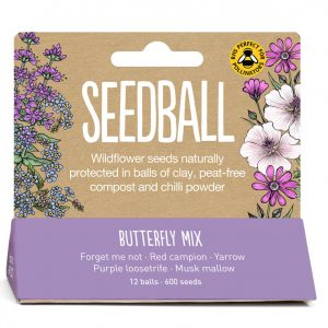 Seedball Butterfly Mix Tube