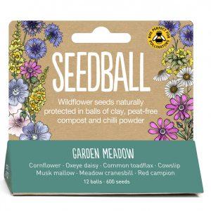 Seedball Garden Meadow Tube