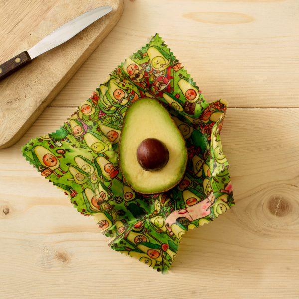Seedball Beeswax Jelly Armchair Avocado Park Small Wrap