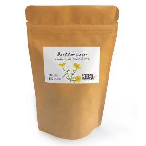 Seedball Buttercup Pouch
