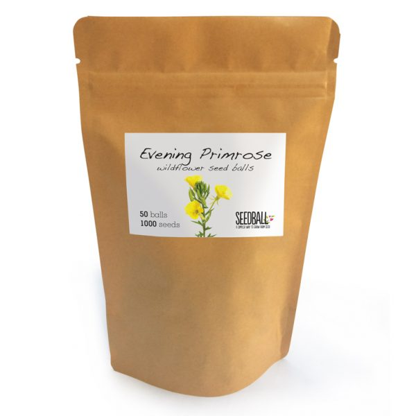 Seedball Pouch of Evening Primrose