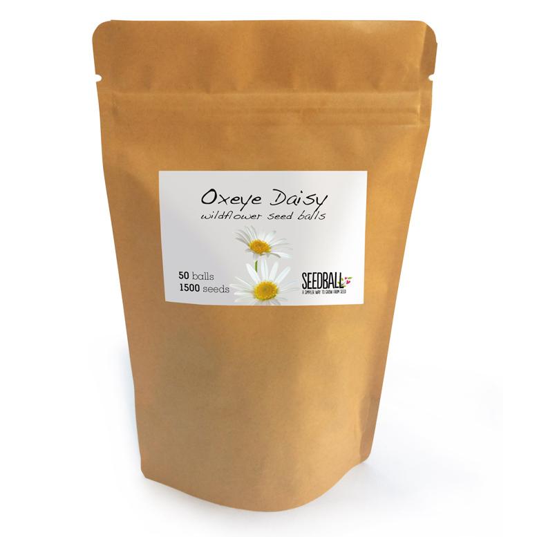 Seedball Oxeye Daisy Pouch