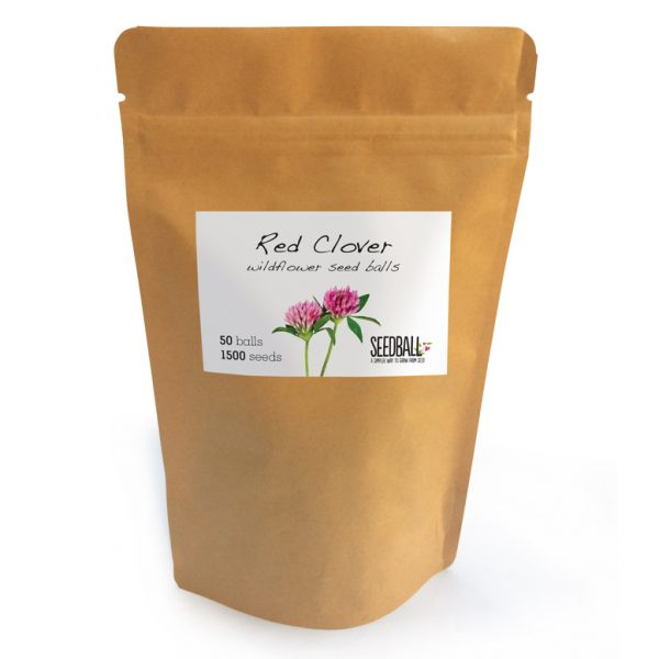 Seedball Red Clover Pouch