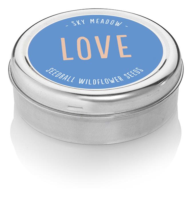Seedball Love Tin